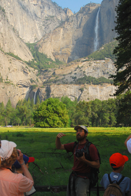 Robb Hirsch at Yosemite Falls