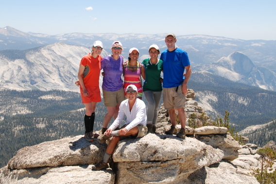 Summit of Mt. Hoffman, Yosemite National Park